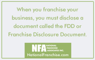 Franchise Disclosure Rules