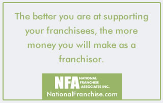 Developing a Franchise Support System