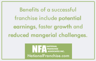 Keys to successful franchising